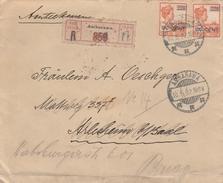 Niederländisch-Indien-AMBARAWA-Charè Brief  Basel-Nachsendung Nach Brugg/Schweiz-Siegelbrief. - Niederländisch-Indien