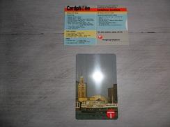 Telefoonkaart ( 44 ) Chine  China  Hongkong   Télécarte  Cardphone 50 -  Nieuw - Ongebruikt - Neuf - Mint - Hong Kong