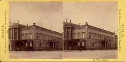 Berlin, Das Palais Des Kaisers, Verlag Oertel 1885 - Photos Stéréoscopiques