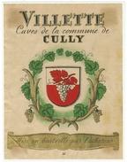 Rare // Villette, Cave De La Commune De Cully, Vaud // Suisse - Etiquettes