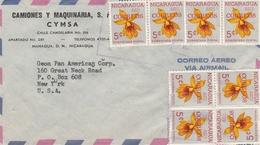 Flugpost-Nicaragua-New York-U.S.A.-1923 - Nicaragua