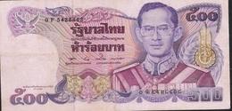 THAILAND P95 500 BAHT 1992 Signature 57 VF  NO P.h. ! - Thailand