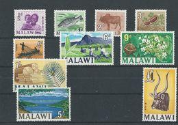 Malawi: 1/ 13 ** (série Incomplète) - Malawi (1964-...)