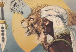 """COLONIALI_"""" DUBAT """" _Militari_Bande Armate Dela Somalia_Ill.De Giorgio E. _Vg Il 3.11.1940_ Originale 100%-2 Scann- - Guerre 1939-45"""