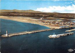 11-PORT-LA-NOUVELLE- ENTREE DU PORT , LA PLAGE RIVE DROITE - Port La Nouvelle