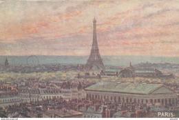 PARIS - Tour Eiffel -  Illustrateur  Raphael Tuck  N° 108 Non écrite - Eiffeltoren
