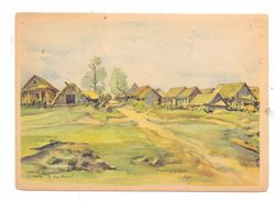 RU 141100 SCHTSCHOLKOWO / SCHILKOWO, 2. Weltkrieg, Künstler-Karte Kriegsberichter Hensel - Russland