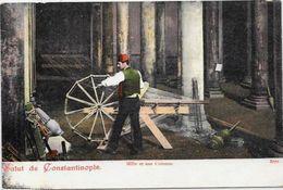 CPA Ancienne Turquie Turkey Non Circulé Constantinople Type Métier Cordier - Turkey