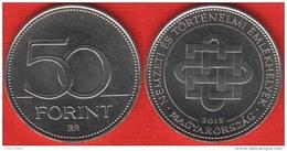 "Hungary 50 Forint 2015 ""National And Historic Memorials"" UNC - Hungary"