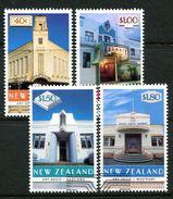 New Zealand 1999 Art Deco Architecture Set Used (SG 2228-31) - Nuova Zelanda