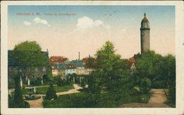 AK Frankfurt Höchst, Partie Im Schloßgarten, Um 1918 (15442) - Frankfurt A. Main
