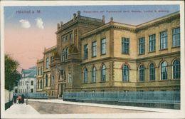 AK Frankfurt Höchst, Hauptbüro Der Farbwerke Vorm. Meister, Lucius & Brüning, Um 1918 (15453) - Frankfurt A. Main