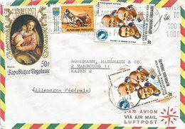 Togo 1972 Lome Apollo Space Bmadonna Agriculture Cover - Togo (1960-...)
