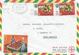 Togo 1972 Lome Cocoa Drying Agriculture Cover - Togo (1960-...)