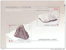 HR 2010-964-5 MINERALIEN, HRVATSKA CROATIA, S/S, MNH - Mineralien