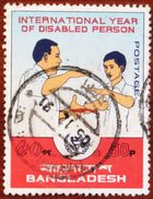 FREE POSTAGE!! Bangladesh 1981 International Year Of The Disabled, UN, Sign Language, 1v Part, Used, Gestempelt, Vg-ex - Handicaps