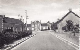 Noyen-sur-Sarthe (Sarthe) La Gendarmerie (CPSM, Bords Dentelés, Format 9 X 14) - Autres Communes