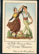 CPA - Publicité Farines JAMMET - Les Vieilles Provinces De France - LE COMTAT VENAISSIN - Publicité