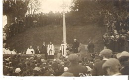 An Unidentified Religious Gathering  Swain  Real Photo - Christianity
