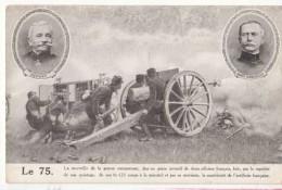 """Le 75 Du Génie Inventif De Deux Officiers Français  3Deport """" """" Sainte Claire Deville """"  : Achat Immédiat - Oorlog 1914-18"""