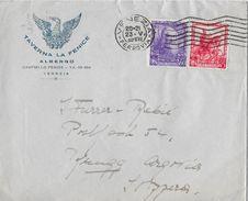 VENEZIA → Lettera Taverna La Fenice Albergo A Brugg/Svizzera  ►Venezia-Ferrovia 1959◄ - 6. 1946-.. Republik