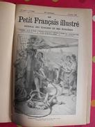 """20 Numéros Reliés """"le Petit Français Illustré"""" De 1889. Contient Le Roman L'engoulevent. Savant Cosinus Christophe - Magazines Et Périodiques"""