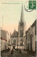 PODENSAC - RUE DE L'EGLISE - Francia