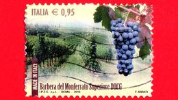 ITALIA - Usato - 2016 - Made In Italy: Vino DOCG - Barbera Del Monferrato Superiore - Asti (Piemonte) - 0,95 € - 6. 1946-.. Repubblica
