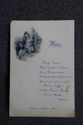 BEDARIEUX - Menu D'un Repas Servi Le 10 Février 1900 - Menus