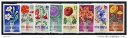 ROMANIA 1964 Garden Flowers Set  MNH / **.  Michel 2268-75 - Plants