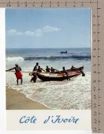 République De La Côte D'Ivoire - Barque De Pêcheurs - Côte-d'Ivoire