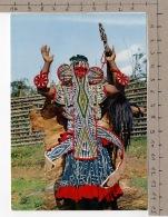 Masques Africains - Masque Et Costume Bamiléké / African Mashs - Bamiléké And Costume - Costumes