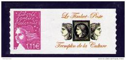 TIMBRE PERSONNALISE ADHESIF N° 3729D** AVEC LOGO PRIVE NEUF LUXE - Personalisiert
