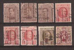 Lot Voorafgestempeld DIEST Met ALBERT I / HOUYOUX En HERALDIEKE LEEUW ; Staat Zie Scan ! - Roulettes 1920-29