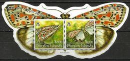 Pitcairn Islands - 2007 Salt And Pepper Moth S/sheet MNH **   Sc 651a - Timbres