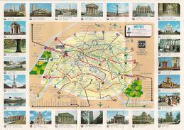 PARIS - METRO (Agence Internationale - CHANGE-VOYAGES) - Europe