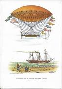 DIRIGIBILE DI M. DUPUY DE LOME (1872) - EDIZ. CASA MAMMA DOMENICA MILANO - AEROSTATI - SERIE 1a - NUOVA NV - Dirigibili