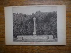 Carte Assez Rare , Marbotte , Projet Du Monument à ériger Au Cimetière National Du VIIIe Corps - Andere Gemeenten