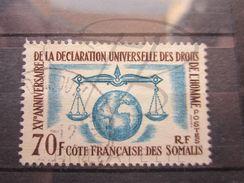 VEND BEAU TIMBRE DE LA COTE FRANCAISE DES SOMALIS N° 318 !!! - Costa Francese Dei Somali (1894-1967)