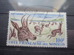 VEND BEAU TIMBRE DE POSTE AERIENNE DE LA COTE FRANCAISE DES SOMALIS N° 26 , X !!! - Côte Française Des Somalis (1894-1967)
