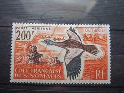 VEND BEAU TIMBRE DE POSTE AERIENNE DE LA COTE FRANCAISE DES SOMALIS N° 28 , X !!! - Côte Française Des Somalis (1894-1967)