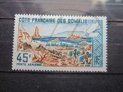 VEND BEAU TIMBRE DE POSTE AERIENNE DE LA COTE FRANCAISE DES SOMALIS N° 43 , X !!! - Côte Française Des Somalis (1894-1967)