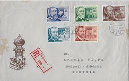 1955 DEBRECEN  → Reccomande Letter To Solothurn/Switzerland   ►RRR◄ - Hungría
