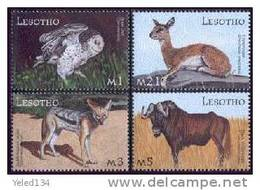LESOTHO   1300-3 MINT NEVER HINGED SET OF STAMPS ANIMALS - WILDLIFE  # S-629   ( - Unclassified
