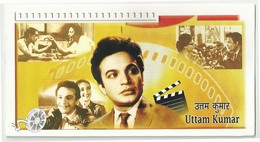 Uttam Kumar Actor Star         India PRESENTATION PACK   Cinema Film Movie Bollywood Kino Cinéma Sharmila Tagore - Cinema