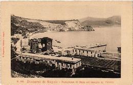 CPA NAPOLI Panorama Di Baia Col Tempio Di Venere. ITALY (526109) - Napoli (Naples)