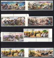 LIBIA - 1981 - SCENE DI BATTAGLIE - NUOVI MNH - Libia