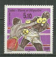 SAINT PIERRE ET MIQUELON MNH ** 625 La Boxe Sport - St.Pierre & Miquelon