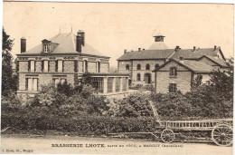 ARDENNES 08.MARGUT BRASSERIE LHOTE BATIE EN 1900 - Altri Comuni