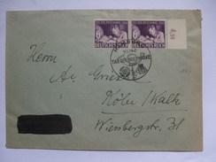 GERMANY 1942 Cover - Hamburg Tag Der Briefmarke Sonderstempel - Allemagne